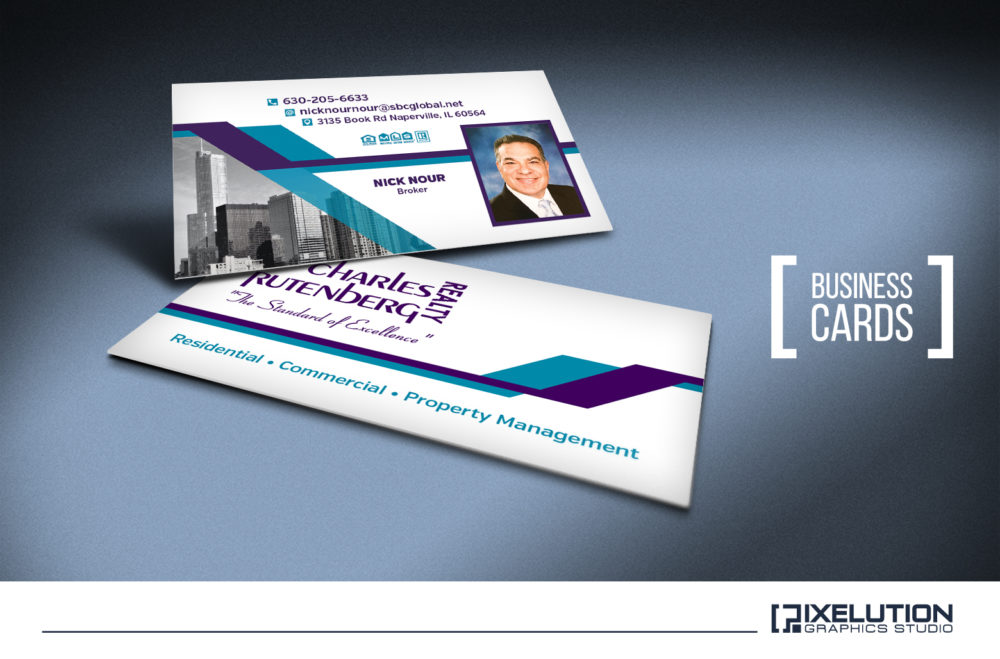 Charles Rutenberg Business Cards – Pixelution Graphics